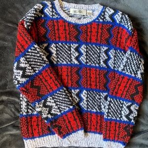Sweaters - Rare Vintage 80's Acrylic Sweater